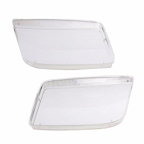Viviance Pair Plastic Headlight Objektive Ersatz Für Vw Mk4 Jetta Bora 99-05