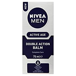Nivea Men Active Age Double Action Aftershave Balm - 75 ml