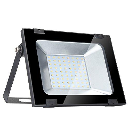 Yuanline Focos LED Exterior Blanco Cálido 50W 5000LM