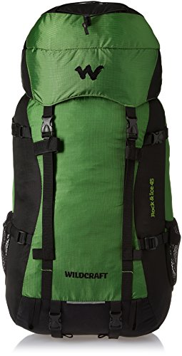 Wildcraft 35 ltrs Green Hiking Backpack (Rock & Ice Plus Green)