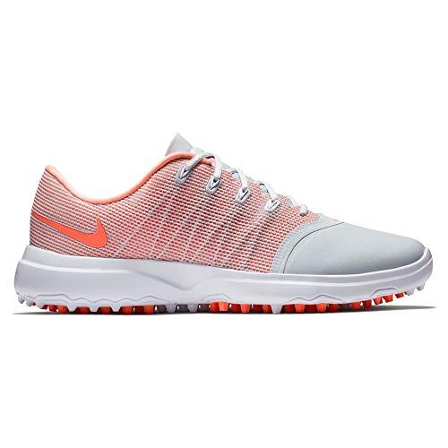 Nike Lunar Empresss 2 Spikeless Golf Shoes 2018 Women Pure Platinum/Light Atomic Pink/White Medium 11