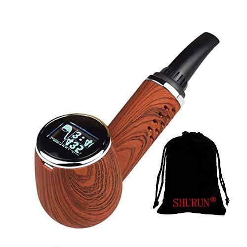 Dry Herb Vaporizer Pen mod Keramik Kammer Backen Vape Pipes Temperaturregelung Kräuterverdampfer inklusive SHURUN Aufbewahrungstasche