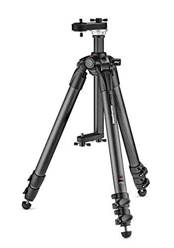 Manfrotto MTCFVR Treppiede in Carbonio per Virtual Reality, Nero