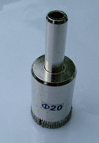 Diamantbohrkrone Diamant Glasschneider Fliesenschneider Kernbohrer glasbohrer 20mm