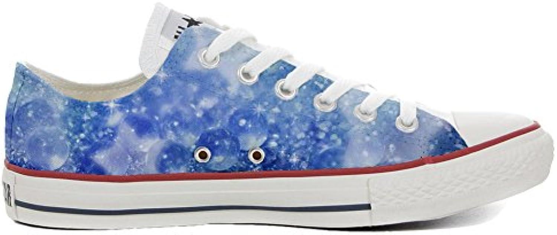mys Converse Customized Chaussures Unisex - Chaussures Customized Coutume (Produit Artisanal) Ciel 492488
