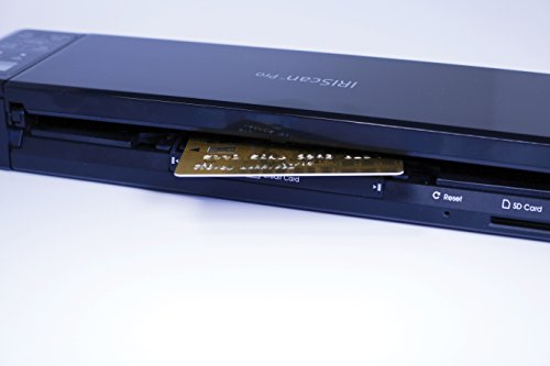 IRIS 458071 Pro 3 WiFi IRIScan Scanner (600x600 dpi, USB 2.0) schwarz - 3
