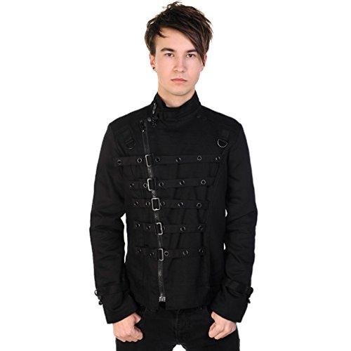 Banned -  Giacca sportiva - Camicia - Uomo nero S