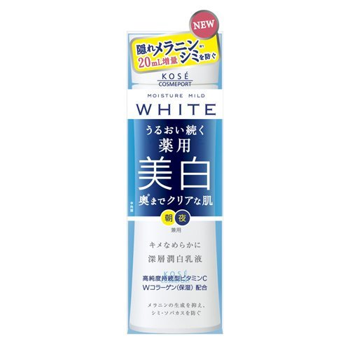 Kose Moisture Mild White Milky Lotion 140ml