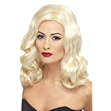 Smiffys 20's Luscious Long Wig Blonde with Waves