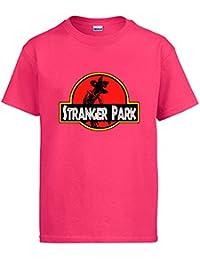 Camiseta Stranger Things Stranger Park Jurassic Park