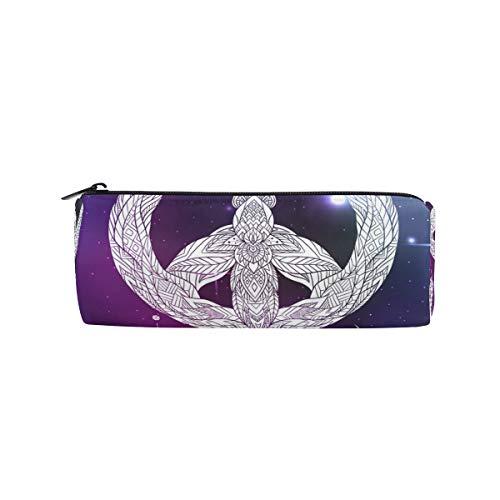 Ahomy Estuches de lápices atrapasueños Pluma Starry Sky cremallera bolsa de lápiz para adolescentes niñas y niños, bolsa de viaje de maquillaje para mujeres