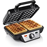 Máquina para gofres Tristar wf-2195–cialdiera para gofres 2Waffle para cocinar–Cuerpo de acero inoxidable