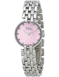 Christian Dior Femmes CD092110M003 Bagheera inoxydable Montre-bracelet en  acier 17782e994db