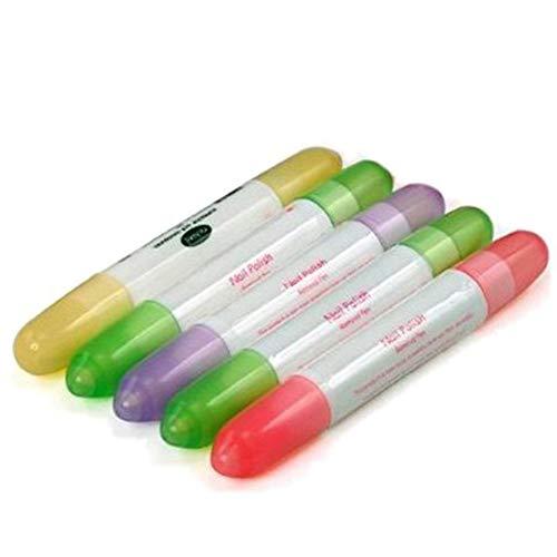 5 Stück/Set Nagellack- Korrekturstift Nagellackentferner Stifte für Saubere Nagellack - Corrector Pen