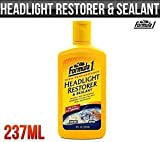 Auto Car Products Headlight Restorer & Sealant Protection Cleaner Formula 1