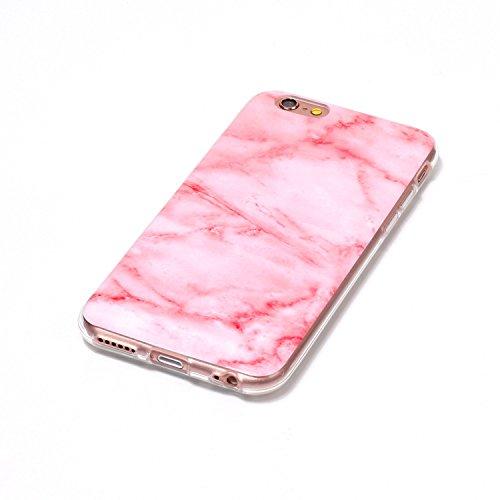 EKINHUI Case Cover Für Apple IPhone 6 6s Rückseitige Abdeckung Weiche flexible dünne u. Leichte bunte TPU pretektive Silikon-Kasten-Abdeckung ( Color : B ) A