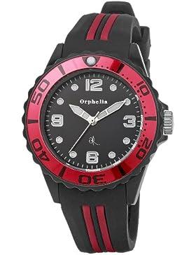 Orphelia Unisex-Armbanduhr Analog Quarz Kautschuk OR53171547