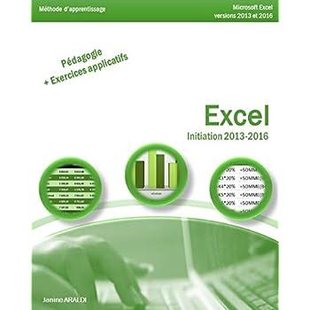 Excel Initiation 2013 - 2016
