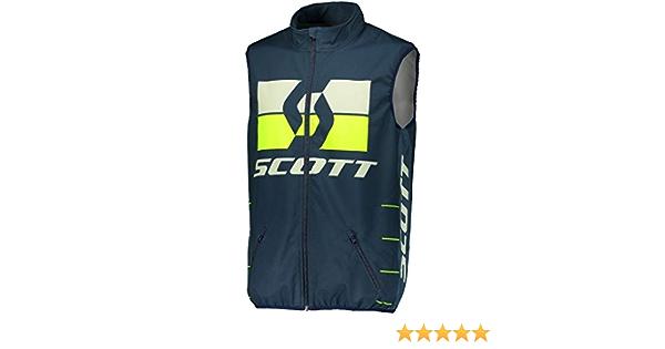 Scott Enduro Motorrad Fahrrad Weste Blau Gelb 2020 Größe L 50 52 Auto