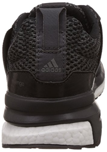 adidas Revenge M, Chaussures de Running Entrainement Homme, Noir Noir (noir essentiel / gris perspective / gris foncé)