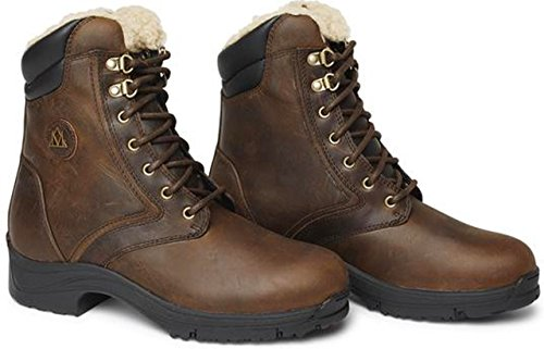 Mountain Horse d'équitation Bottes Snowy River Lace Mens marron