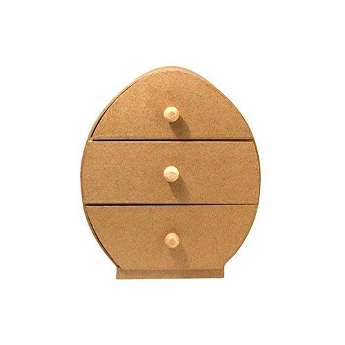 rayher-7150700-cartapesta-como-ovale-con-3-cassetti-225-x-195-x-11-cm