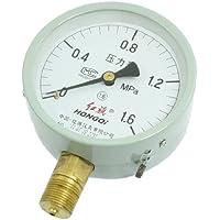 'Horizontal de montaje 1/2manómetro de schroefdraad Water Lucht 0–1,6MPA