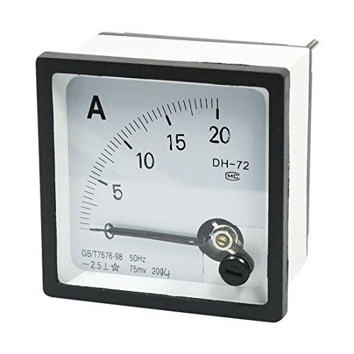 DC meetbereik 0-20A Panel Mount Ampèremeter Ampèremeter DH-72