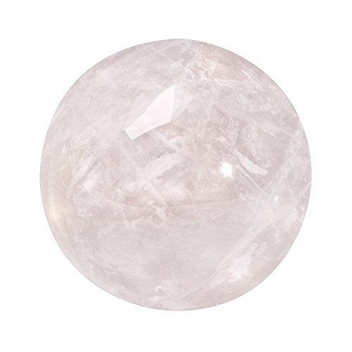 Quiges Austauschbare Mini Coin 12mm Wechselstein Pink Rose Quarz Stein für Ringe-Ohrringe-Anhänger-Armband Halter - Quarz Rose Anhänger