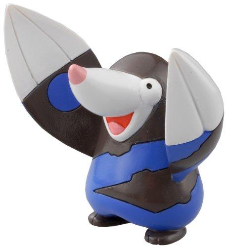 Takaratomy Pokemon Noir et blanc Monster Collection Figure – M-005 – Mogurew/Drilbur