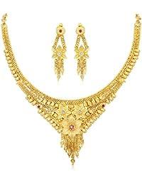 Sukkhi Jewellery Sets for Women (Golden) (N73728)