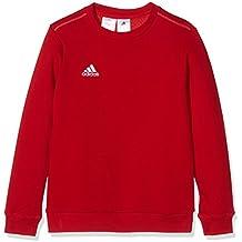 adidas Coref Swt To Y Sudadera, Niños, Rojo / Blanco, 164