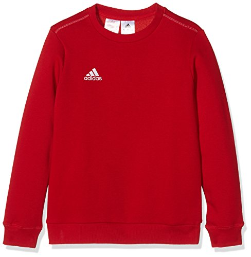 adidas Kinder Sweatshirt Coref swt to y, power rot/Weiß, 140, S22332 (Pullover Roten Hose)