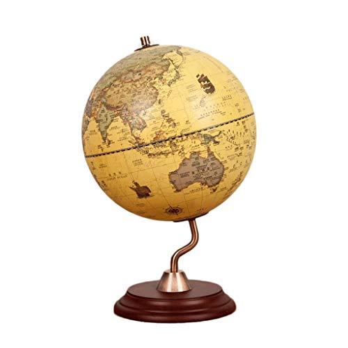Tmy Bureau Globe Cadre Europeen En Metal De Type S De Type Retro Europeen Bilingue Chinois Et Anglais Etagere D Etude Ornements Bureau Bureau