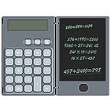 NEWYES Calcolatrice Standard con Tavoletta LCD da 6,5 Pollici (grigio)