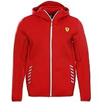 Puma SF Scuderia Ferrari Softshell Jacke Kapuze rot XS S M L XL 2XL Formel 1