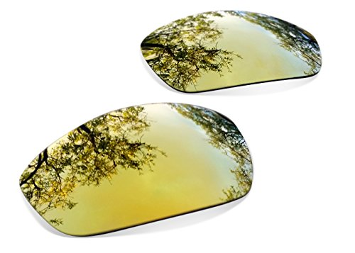 sunglasses restorer Lenti Polarizzate Gold 24 K di Ricambio per Oakley Monster Dog