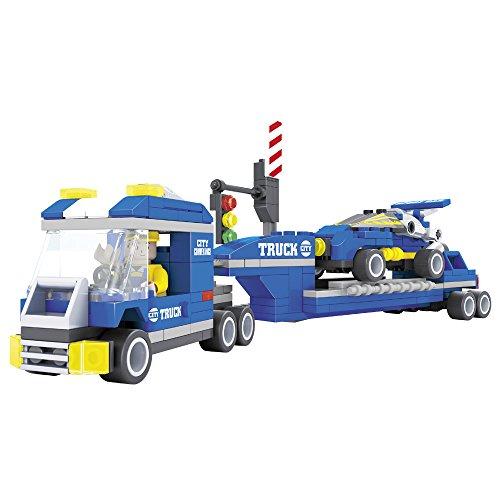 Ausini - Juego de construcción de un Camión & coche - 248 piezas (ColorBaby 42826)