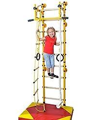 Interior Trepador para Niños FITTOP M2, máx. Capacidad de carga 130 kg - Naranja, 200 - 250 cm