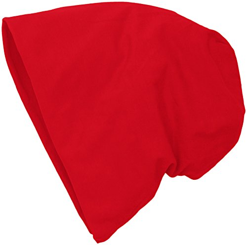 MSTRDS Jersey Beanie, Berretti a Maglia Donna, Rot (Red 3826), Taglia Unica (Taglia Unica)