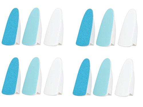 Elektronische Nail Care System 12x Köpfe Datei Glanz mit Scholl Velvet smooth kompatibel -