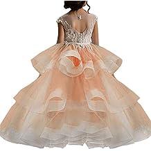 super popular disfruta de un gran descuento comprar Amazon.es: vestidos fiesta niñas - Naranja
