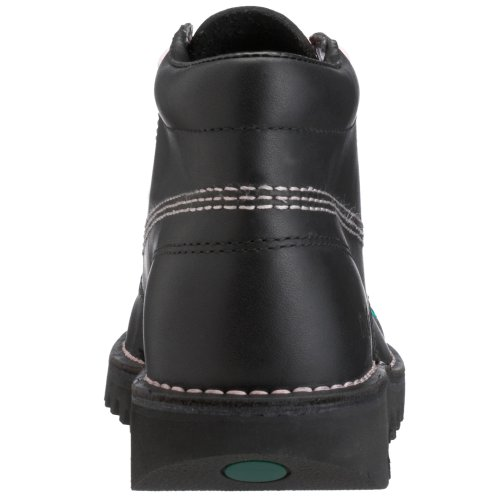 Kickers Kick Hi W Core, Damen Kurzschaft Stiefel Schwarz (Black/Pink/Black)