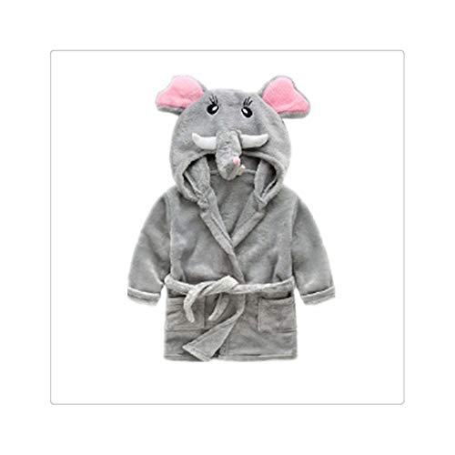 Children's Nightgown Flannel Cartoon Animal Shape Cosplay Boy Child Girl Bathrobe Baby Pajamas Home Service Halloween Party Gift 11 (Kostüm Party Makeup Tutorial)