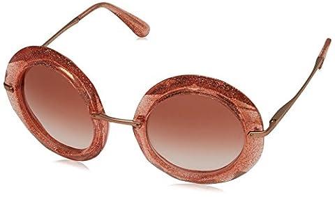 Dolce & Gabbana Sonnenbrille 0Dg6105 Pink/Glitter Gold, 50