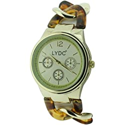 Lydc Women'Armbanduhr Analog Quarz Armband LYDC47/B