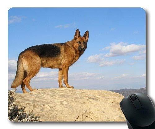 Gaming Mousepads, Welpen-Hund der französischen Bulldogge Netter Haustierhund b q, Präzisionsnaht, haltbare Mausunterlage