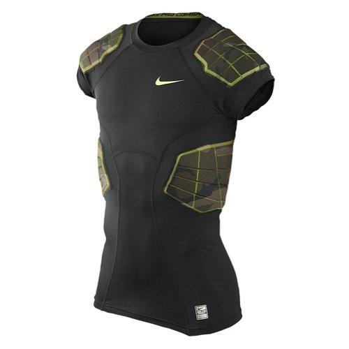 Nike Pro Combat Hyperstrong Compression Shirt Camo 4 Pads (XL) (Nike Camo Pro)