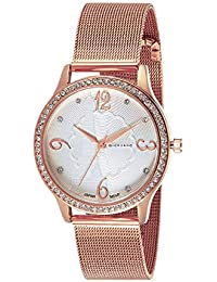Giordano Analog White Dial Women's Watch-C2150-11