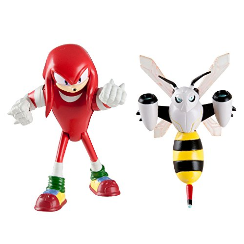 Sonic the Hedgehog t22502 a4knucklesbeebot 3 Zoll Sonic Boom Finger und beebot Articulated Figuren (2 Stück) (Sonic Boom Amy)